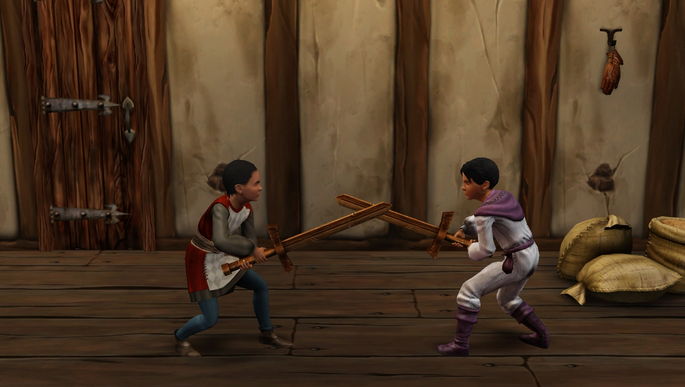 Medieval Kids Sword Fighting Sims 3 Pictures