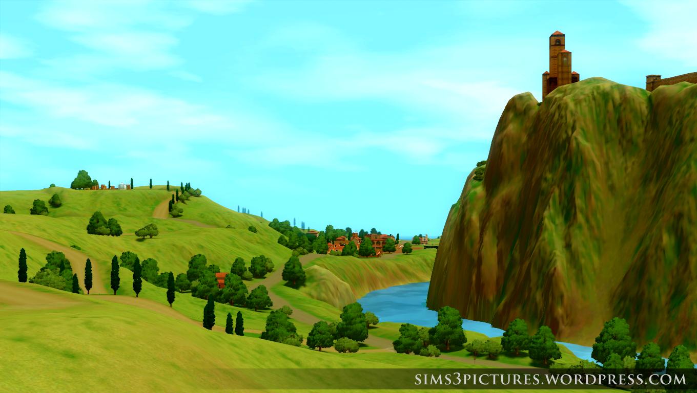 Monte Vista Hills Sims 3 Pictures